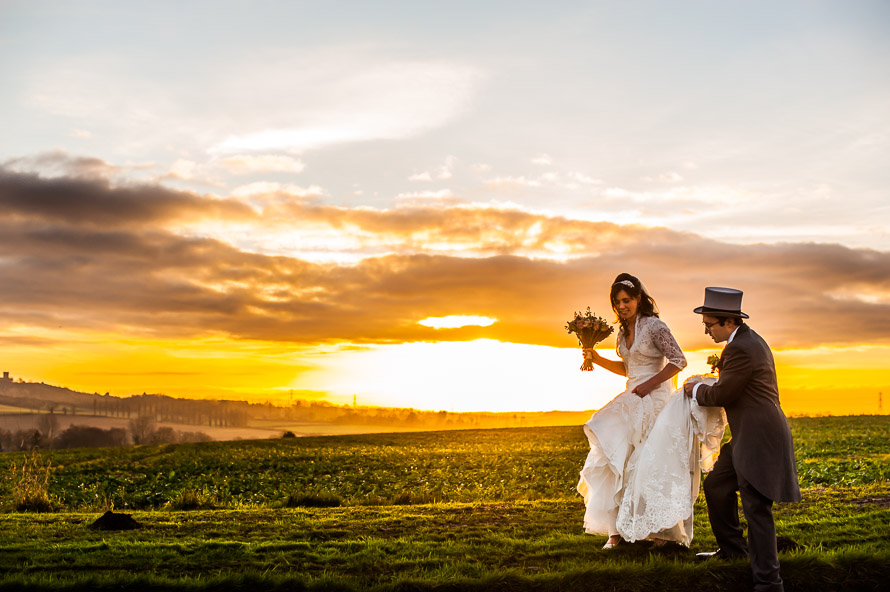 Donington Park Farmhouse Hotel Wedding