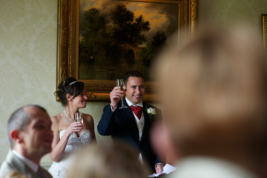 Langley Priory Wedding
