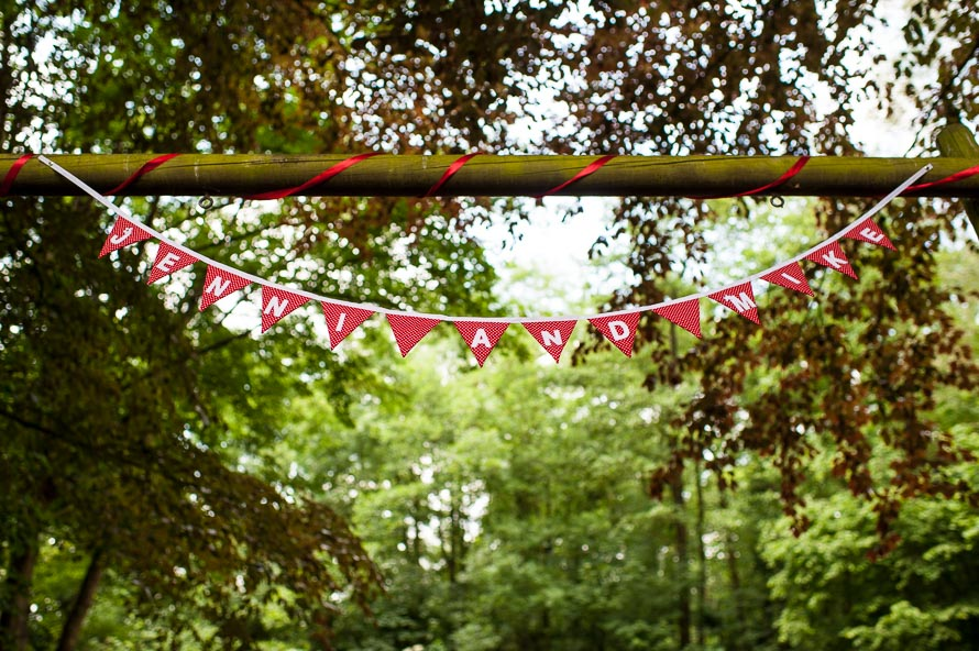 Fox Coverts Campsite Wedding, Leicestershire