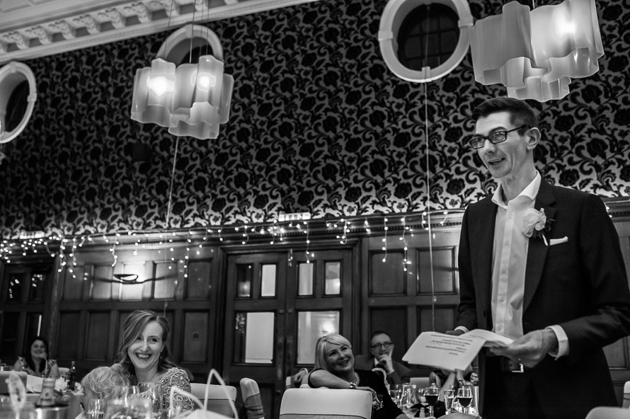 grooms speech at cathedral quarter hotel