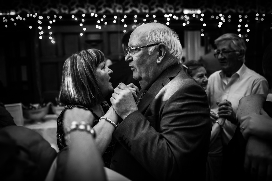 couple dancing at wedding - the cathedral quarter hotel