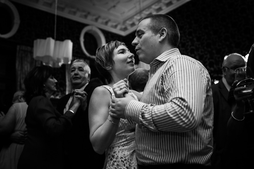 couple dancing at the cathedral quarter hotel